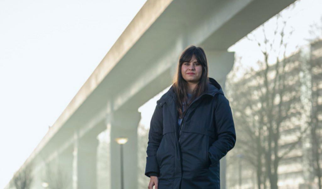 Soraya student BouwTalent Noord