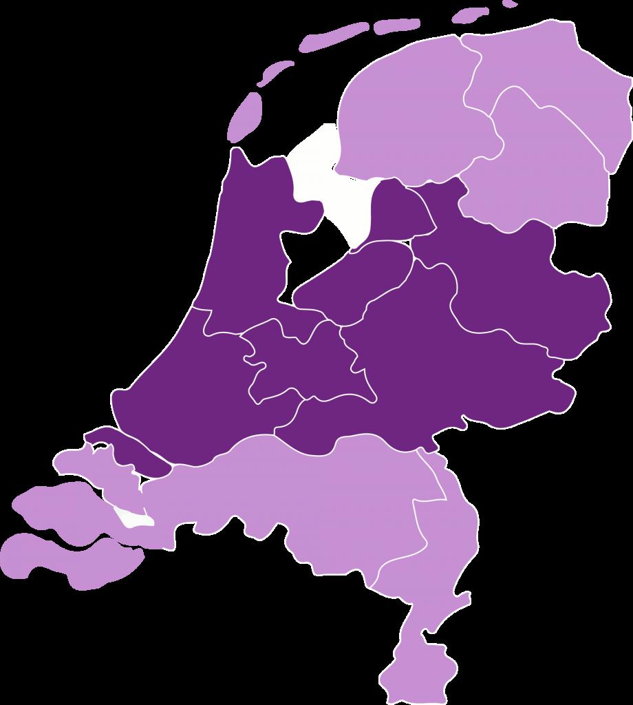 Kaart NL Bouwtalent Noord
